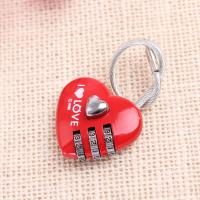 Wholesale heart shape Wire combination lock for Lovers from china suppliers