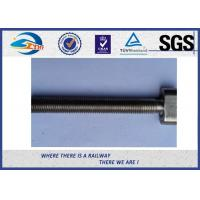 Wholesale Railway Sleeper Railway Bolt Speical T Head Long Rod Galvanizing from china suppliers