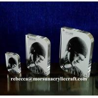 Wholesale Different size clear magnetic picture frame with rounded corner from china suppliers