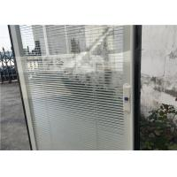 Wholesale Horizontal Pattern Blinds Between Glass , Aluminium Blinds For Door Window from china suppliers