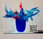 Wholesale Multi colour handblown glass table lamps / Handblown glass table lamps , DJ-3007 from china suppliers