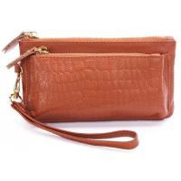 Wholesale cow leather stone pattern clutch for ladies from china suppliers