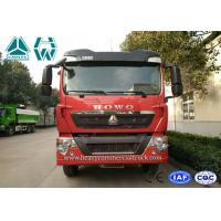 Quality 12 Wheels Mining Tipper Trucks For Loading Construction Material , 336HP Engine for sale