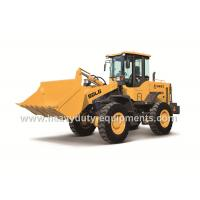 Wholesale 2869mm Dumping Height Wheeled Front End Loader With Turbo Charge In Volvo Technique from china suppliers