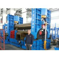 Wholesale Cone Shape CNC Plate Rolling Machine Symmetrical Three Roller Metal Bender Machine from china suppliers