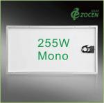 Wholesale 25 Years Wanrranty , Shading Tolerance , 255W Monocrystalline Solar Panels from china suppliers