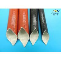 Wholesale Black Expandable Fiberglass Braided Sleeving with Non-alkali Fiberglass Yarn from china suppliers