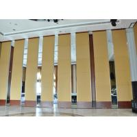 Wholesale Office Hanging Sliding Door  , Sliding Folding Doors , 85mm Melamine Partition Wall from china suppliers