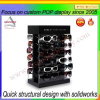 Buy cheap Acrylic sunglasses eyewear display showcase & flooring display rack from wholesalers