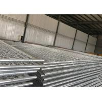 Wholesale chain mesh temporary construction fence 8ft x 12ft  mesh 2-3/8 inch mesh opening x 11.5 gauge wire from china suppliers