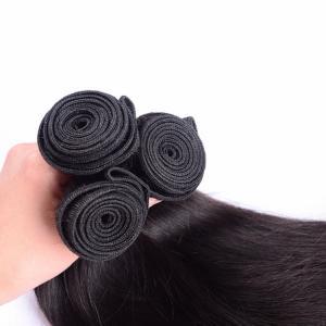 "Quality Brazilian Virgin 8"" - 30"" Hair Weaving Straight Wave Human Hair Extesnion for sale"