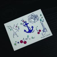 Wholesale Artificial Temporary Wedding Tattoos Stickers Multi Coloured Water Transfer from china suppliers