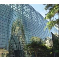 Buy cheap 6mm Bronze Solar Reflective Glass, Colored Flat Tempered Glass with EU CE CCC from wholesalers