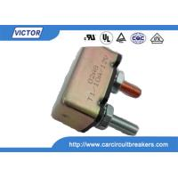 Wholesale Single Pole Bussmann Circuit Breaker , 12V 28V 50 Amp Automotive Circuit Breaker from china suppliers