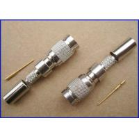 Wholesale 1.0/2.3 Crimp male connector for ST214 Cable from china suppliers