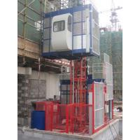 Wholesale 380V 50HZ / 60HZ Construction Material Hoists 1000KGS With Double Cage from china suppliers