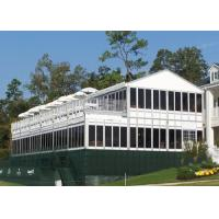 Wholesale Stretch Aluminum Double Decker Tents With Sidewalls For Outside Events from china suppliers