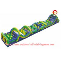 Wholesale Racing And Climbing Outdoor Inflatable Pool Obstacle Course For Kids Game from china suppliers