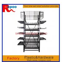 Wholesale Supermarket display stand, Chain stores display racks, Standing Metal wire display, Custom wire countertop displays from china suppliers