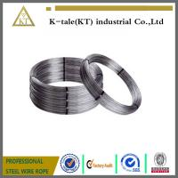 Wholesale Electro/Hot Dipped Galvanized Steel Wire 8 gauge 4.19mm, halambre de hierro galvanizado/cable oval from china suppliers