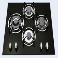 Buy cheap Built-in Four Fold Burner Gas Stove with Toughened Glass Panel from wholesalers