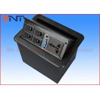 Wholesale Telephone Hidden Desktop Power Sockets , Office Furniture Table Pop Up Sockets from china suppliers