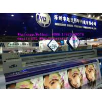 Quality 3.2m width UV LED Hybrid Printers for 3D Flex Banner/Acrylic/Canvas with Roll Option and Flat Option uv printer for sale