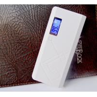 Wholesale Flashlight Portable Power Bank External Battery , Portable Power Charger 13000mAH from china suppliers