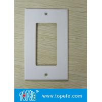 Wholesale One Gang /Two Gang Plastic Decorative Duplex GFCI Receptacles Wallplate from china suppliers