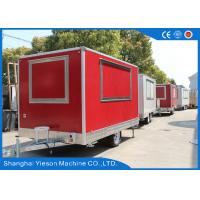 Wholesale Gas Pizza Oven Equipped Mobile Food Kitchen Trailer Sandwich Panel from china suppliers