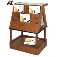 Wholesale Japanese Style Wood Magazine and News Paper Rack - Brochure Display from china suppliers