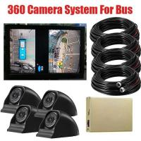 Wholesale 3D 1080P 360 Degree Bird View System For Bus And Truck / 360 Surround View System For Bus from china suppliers