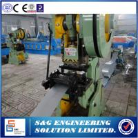 Quality Gcr12MoV Quenched Roller Shutter Door Roll Forming Machine With Manual Uncoiler for sale