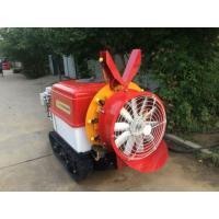 Wholesale Mini crawler type agricultural gas engine power sprayer from china suppliers