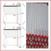 Wholesale DN125 3m 4.5mm ST52 factory 148mm SK end seamless concrete pump pipe from china suppliers