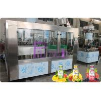 Wholesale Glass Bottle Filler Machine Automatic Juice / Tea Bottling Filling Machine 6000 - 8000BPH from china suppliers