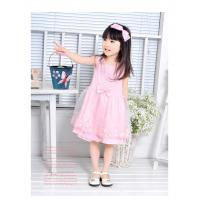Wholesale Summer personality Design polyester combo Emb fringe cute knit baby dress for stage from china suppliers