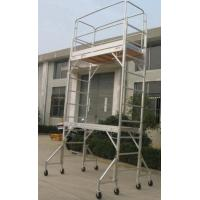 Wholesale Lightweight Aluminium Mobile Tower Scaffold / Work Station / LaddersFor For Building Maintenance from china suppliers