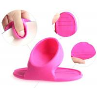 Wholesale Pearl Shaped Eco Friendly Silicone Heat Resistant Mini Mitt Clip Pot Golder from china suppliers