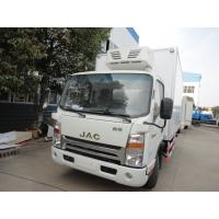 Wholesale 2017s new cheapest price JAC 4*2 3-5tons refrigerted truck for sale, factory sale best price JAC 3tons cold room truck from china suppliers