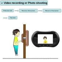 Wholesale WiFi Peephole Door Viewer Digital Door 130 Degree Wide View Angle from china suppliers
