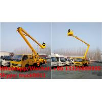Wholesale International Standard High Attitude Working Truck 18 to 22 meter High lifting platform truck, overhead working truck from china suppliers