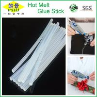 Wholesale EVA Non Toxic Hot Glue Sticks For PVC Toys Sealing White Transparent from china suppliers