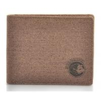 Wholesale Nature Cork Raw material men wallet 11x9cm with card and money slot, customized logo from china suppliers