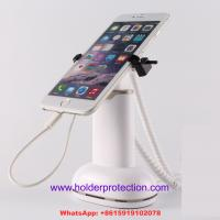 Wholesale COMER metal clip desktop magnetic stands for cellphone Gripper security anti-theft displays from china suppliers