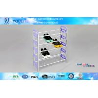 Wholesale Durable Purple Shoe Assemble Rack Modular Shoe Shelves for Living Room Furniture from china suppliers