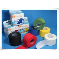 Wholesale Cotton Athletic Trainers Tape / Medical Adhesive Sport Injury Rigid Ankle Strapping Tape from china suppliers