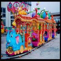 Wholesale Hot-sale Big Elephant Kiddie Train Ride/Amusement Park Train Rides for Sale from china suppliers