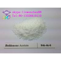 Wholesale hgh pure Boldenone acetate white powder CAS 2363-59-9 Equipoise raw steroid powders from china suppliers