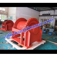 China custom built 50 ton hydraulic winch hoisting hydraulic winch for oil drilling rig on sale